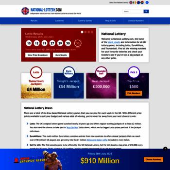 National-lottery.com thumbnail