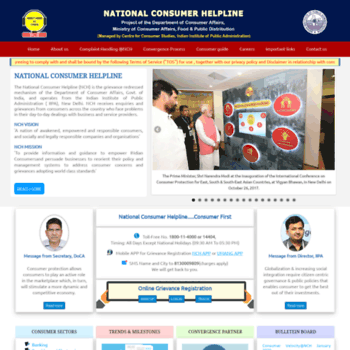 Nationalconsumerhelpline.in thumbnail