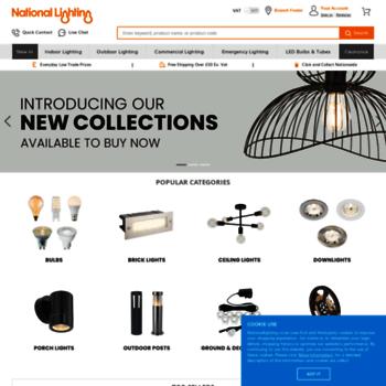 Nationallighting.co.uk thumbnail