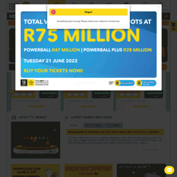 Nationallottery.co.za thumbnail
