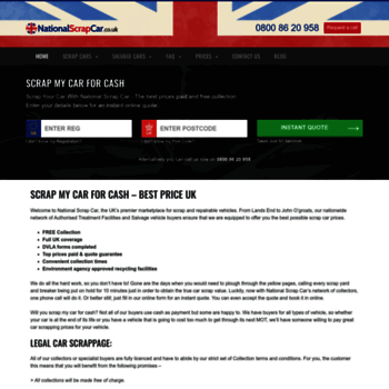 Nationalscrapcar.co.uk thumbnail