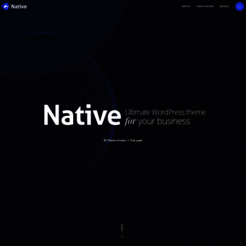 Nativewptheme.net thumbnail