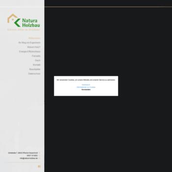Natura-holzbau.de thumbnail