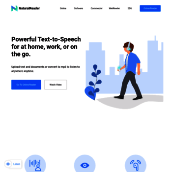naturalreaders com at WI  Free Text to Speech: Online, App