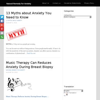 Naturalremedyforanxiety.net thumbnail