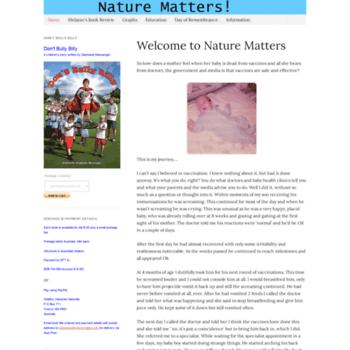Naturematters.info thumbnail