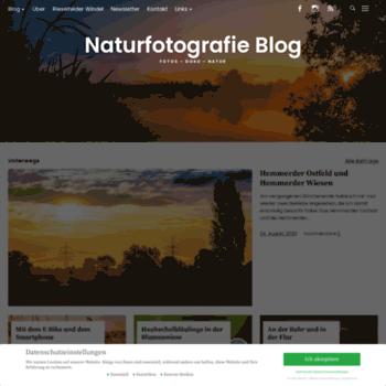 Naturfotografie-blog.de thumbnail