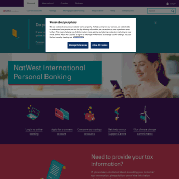 natwestoffshore com at WI  Personal Banking | NatWest International