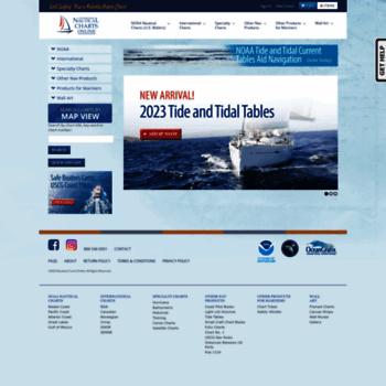 nauticalchartsonline com at WI  Nautical Charts Online