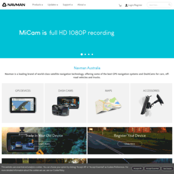 navman com au at WI  GPS Navigation Devices, Dash Cams, Maps