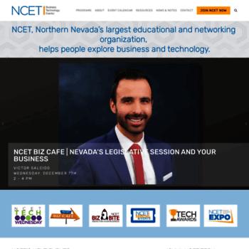 Ncet.org thumbnail