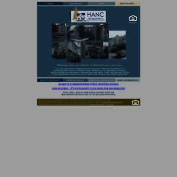 Nchahousing.org thumbnail