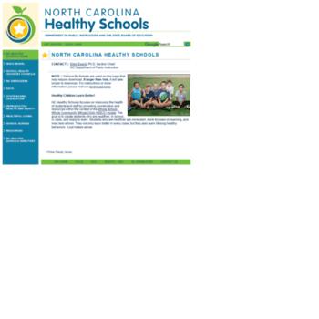 Nchealthyschools.org thumbnail