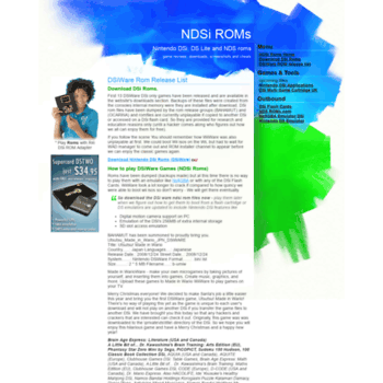 ndsiroms com at WI  NDSi ROMs • Nintendo DSi ROM files • DSiWARE