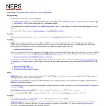 Nepsweb.co.uk thumbnail