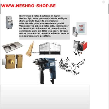 Neshro-shop.be thumbnail