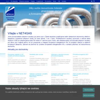Net4gas.cz thumbnail