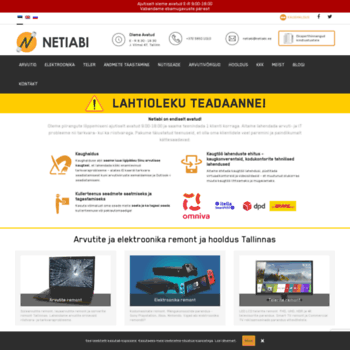0642d87de3b netiabi.ee at WI. Arvutiremont Tallinnas | Arvutite ja elektroonika ...