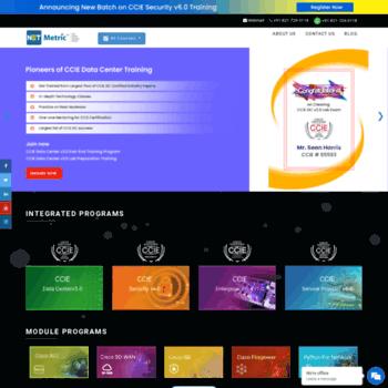 netmetric-solutions com at WI  Best CCIE, CCNP & CCNA