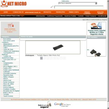 Netmicro.pro.br thumbnail