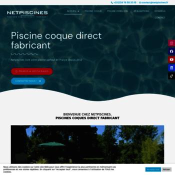 Netpiscine.fr thumbnail
