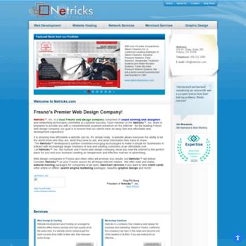 netricks com at WI  Fresno California Web Design and Hosting Company