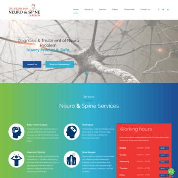 Neuroandspinesurgeon.in thumbnail