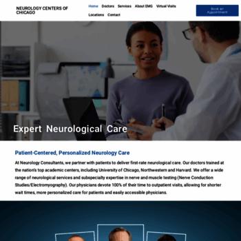 Neurologycentersofchicago.org thumbnail