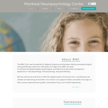 Neuropsychology-montreal.ca thumbnail
