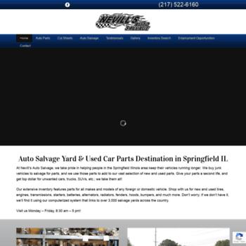 Car Dealerships In Springfield Il >> Nevillsauto Com At Wi Auto Salvage Springfield Il Used