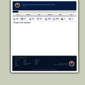 new dhakaeducationboard gov bd at Website Informer  Visit