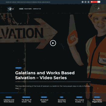 new2torah com at WI  New2Torah – Torah Observant Followers