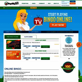 Newbingobilly.ag thumbnail
