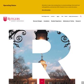 Newbrunswick.rutgers.edu thumbnail