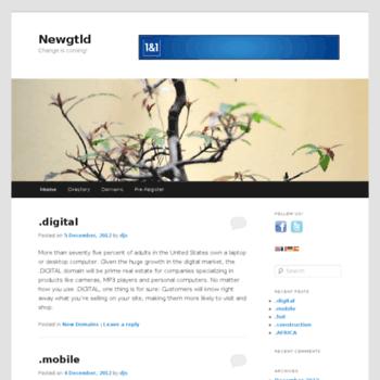 Newgtld.biz thumbnail