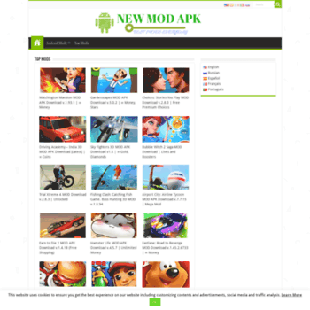 newmodapk com at WI  Best android games mods | New mods for android