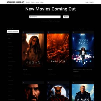 Newmoviescomingout.us thumbnail