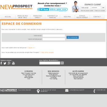 Newprospect.fr thumbnail