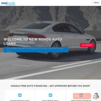 New Roads Auto Loans >> Newroadsautoloans Com At Wi Direct Car Loans Online New Roads