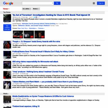 Веб сайт news.google.com