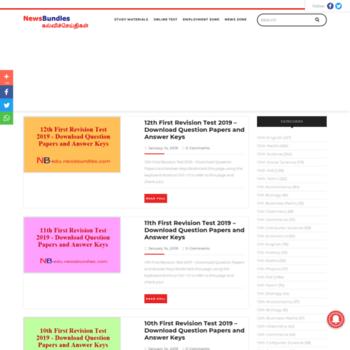 newsbundles com at WI  NewsBundles – Education News – TET