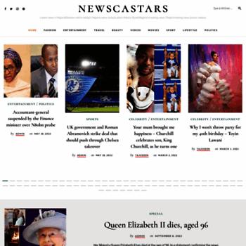 Newscastars.com thumbnail