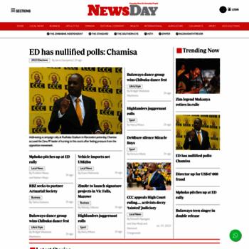Newsday.co.zw thumbnail