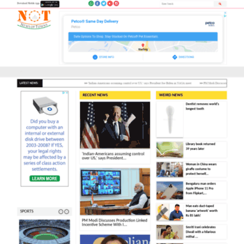 newsoftown com at WI  International and National Breaking News