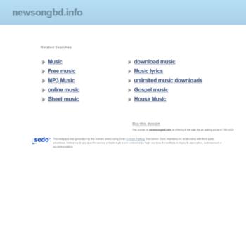 Newsongbd.info thumbnail