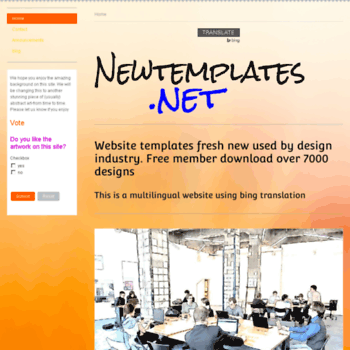 Newtemplates.net thumbnail
