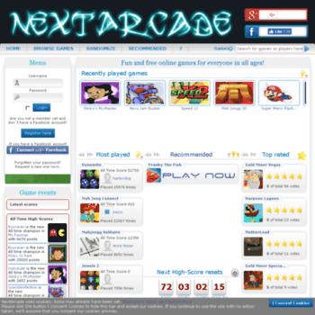 Nextarcade.nu thumbnail