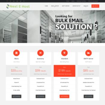 nextehost com at WI  Bulk Email Marketing Service, Best
