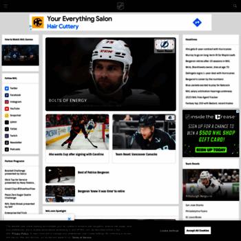Nhl Com At Wi Official Site Of The National Hockey League Nhl Com