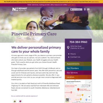 Nhpinevilleprimarycare.org thumbnail